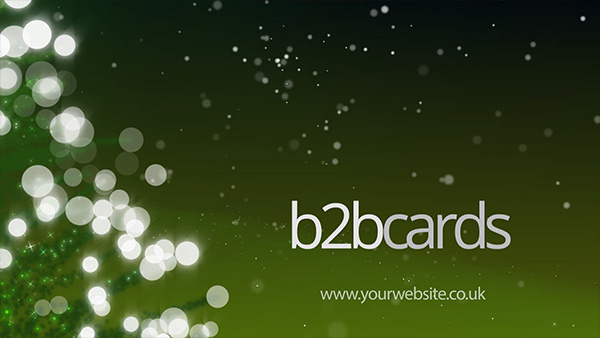 b2bcards corporate christmas eacrd ref:B2BV-234398762, Christmas Tree,Sparkly, Green
