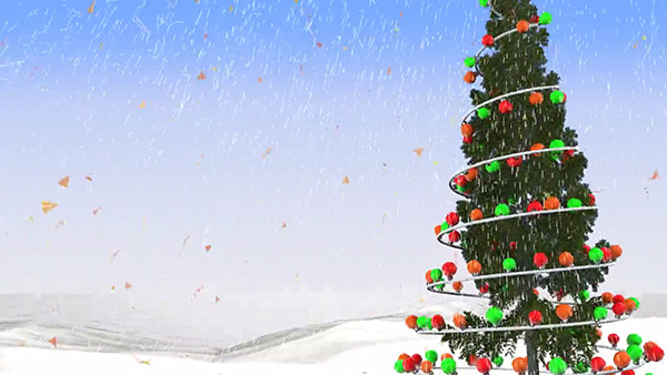 b2bcards corporate christmas eacrd ref:B2BV-234584519, Christmas Tree,Baubles, Colours