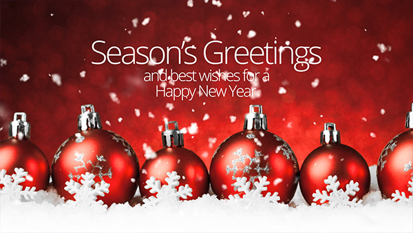 b2bcards corporate christmas eacrd ref:234584889.jpg, Baubles,Snow, Red