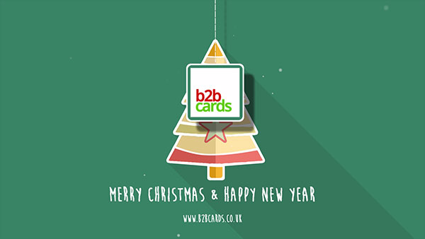 b2bcards corporate christmas eacrd ref:B2BV-234993243, Christmas Tree,Minimal, Teal,Green