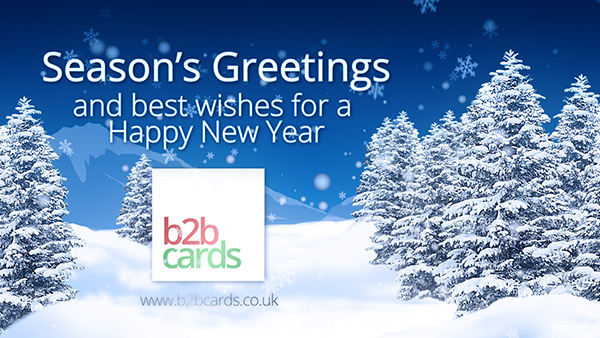 b2bcards corporate christmas eacrd ref:B2BV-235364715, Scenery,Snow, Green,Blue,White
