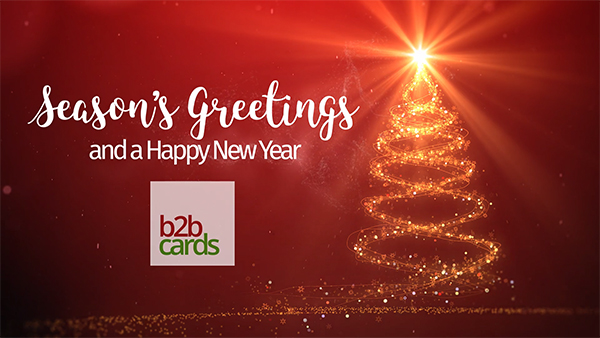 b2bcards corporate christmas eacrd ref:B2BV-237412662, Sparkly,Christmas Tree,Stars, Colours