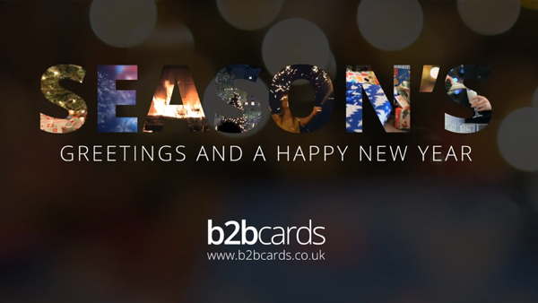 b2bcards corporate christmas eacrd ref:289460624.jpg, Presents,Sparklers,FIre,Christmas Tree, Colours