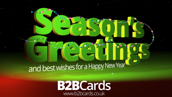 b2bcards corporate christmas eacrd ref:363817896.jpg, 3d, Red,Green