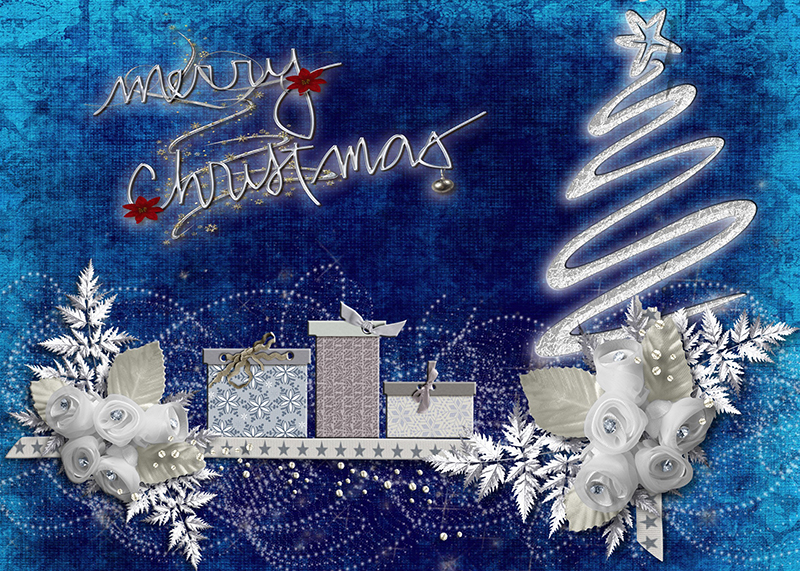 b2bcards corporate christmas eacrd ref:b2b-ecards-artwork-illustrations-blue-silver-766.jpg, Artwork,Illustrations, Blue,Silver