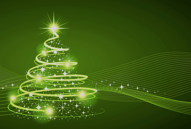 b2bcards corporate christmas eacrd ref:b2b-ecards-artwork-illustrations-christmas-tree-green-1027.jpg, Artwork,Illustrations,Christmas Tree, Green