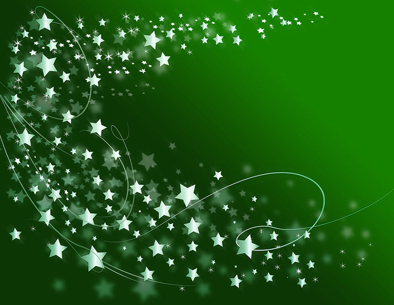 b2bcards corporate christmas eacrd ref:b2b-ecards-artwork-illustrations-stars-green-704.jpg, Artwork,Illustrations,Stars, Green
