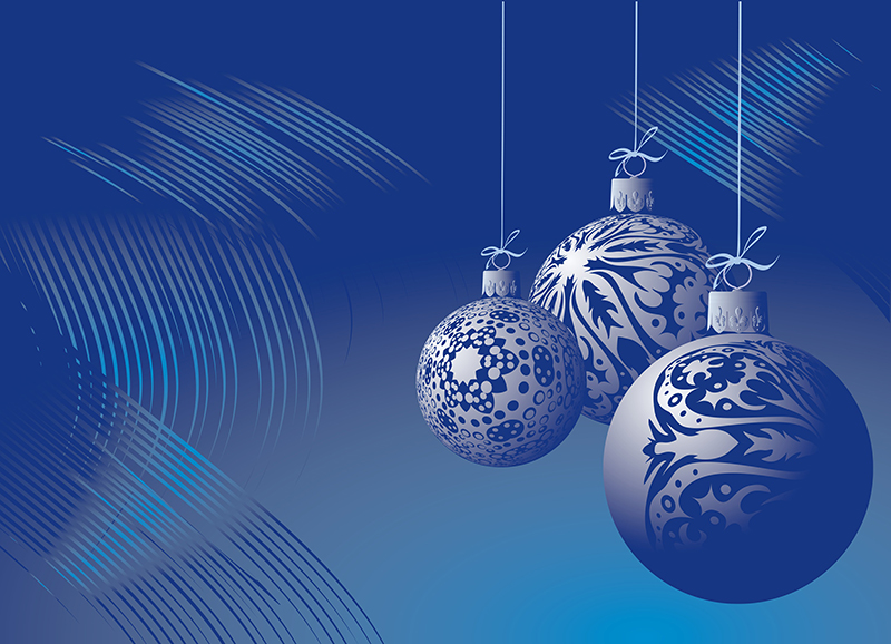 b2bcards corporate christmas eacrd ref:b2b-ecards-baubles-blue-1000.jpg, Baubles, Blue