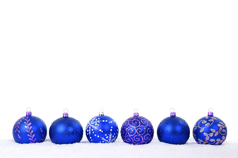 b2bcards corporate christmas eacrd ref:b2b-ecards-baubles-blue-384.jpg, Baubles, Blue