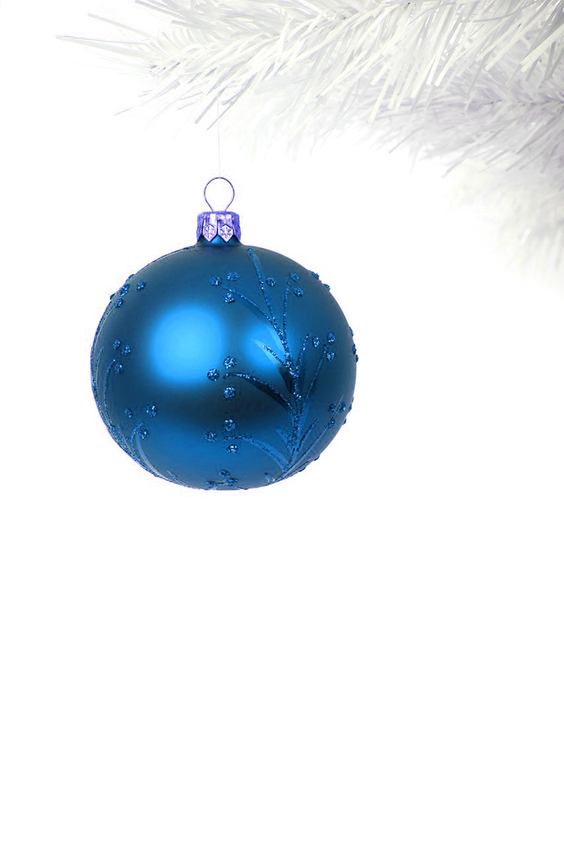 b2bcards corporate christmas eacrd ref:b2b-ecards-baubles-blue-397.jpg, Baubles, Blue