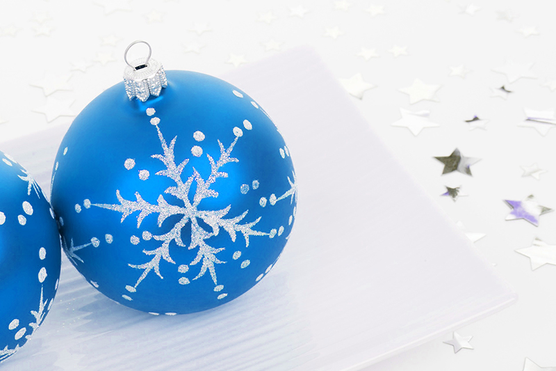 b2bcards corporate christmas eacrd ref:b2b-ecards-baubles-blue-405.jpg, Baubles, Blue