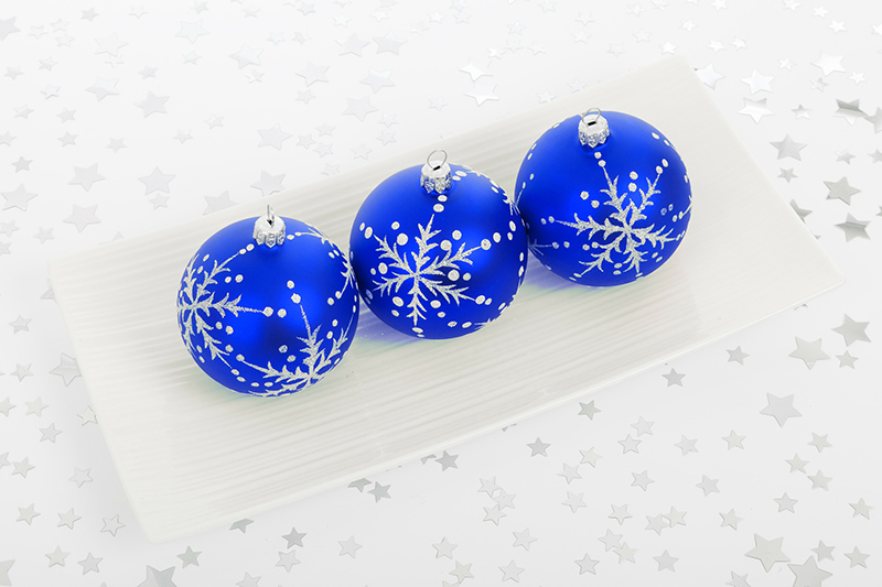 b2bcards corporate christmas eacrd ref:b2b-ecards-baubles-blue-409.jpg, Baubles, Blue