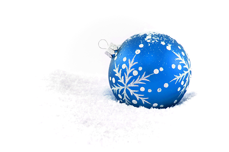 b2bcards corporate christmas eacrd ref:b2b-ecards-baubles-blue-416.jpg, Baubles, Blue