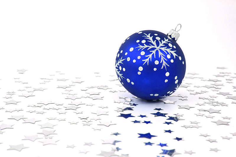 b2bcards corporate christmas eacrd ref:b2b-ecards-baubles-blue-429.jpg, Baubles, Blue