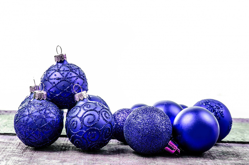 b2bcards corporate christmas eacrd ref:b2b-ecards-baubles-blue-592.jpg, Baubles, Blue