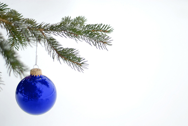 b2bcards corporate christmas eacrd ref:b2b-ecards-baubles-blue-617.jpg, Baubles, Blue
