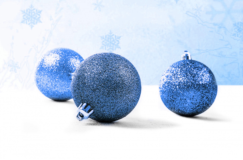 b2bcards corporate christmas eacrd ref:b2b-ecards-baubles-blue-915.jpg, Baubles, Blue