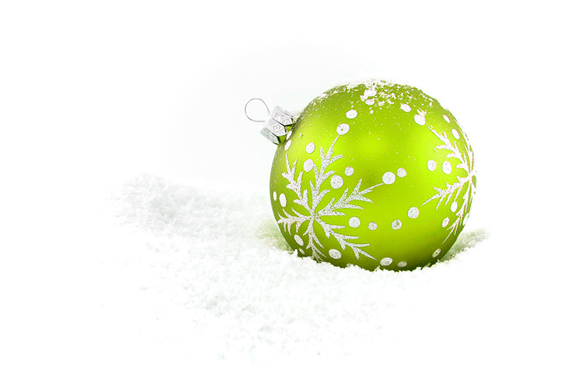 b2bcards corporate christmas eacrd ref:b2b-ecards-baubles-green-413.jpg, Baubles, Green