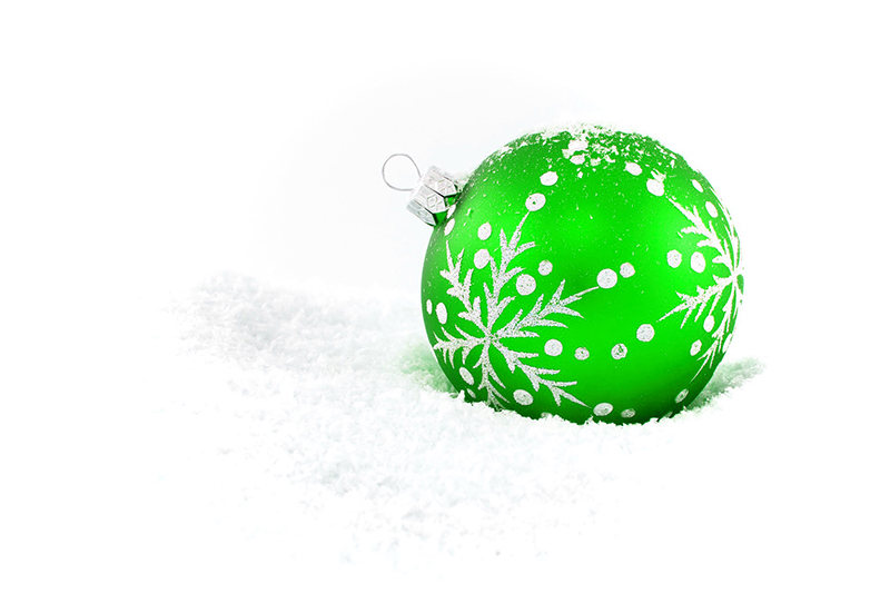 b2bcards corporate christmas eacrd ref:b2b-ecards-baubles-green-414.jpg, Baubles, Green