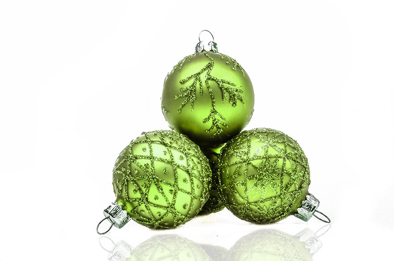 b2bcards corporate christmas eacrd ref:b2b-ecards-baubles-green-574.jpg, Baubles, Green