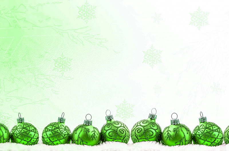 b2bcards corporate christmas eacrd ref:b2b-ecards-baubles-green-579.jpg, Baubles, Green