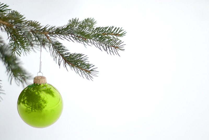 b2bcards corporate christmas eacrd ref:b2b-ecards-baubles-green-616.jpg, Baubles, Green
