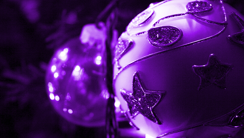 b2bcards corporate christmas eacrd ref:b2b-ecards-baubles-purple-369.jpg, Baubles, Purple