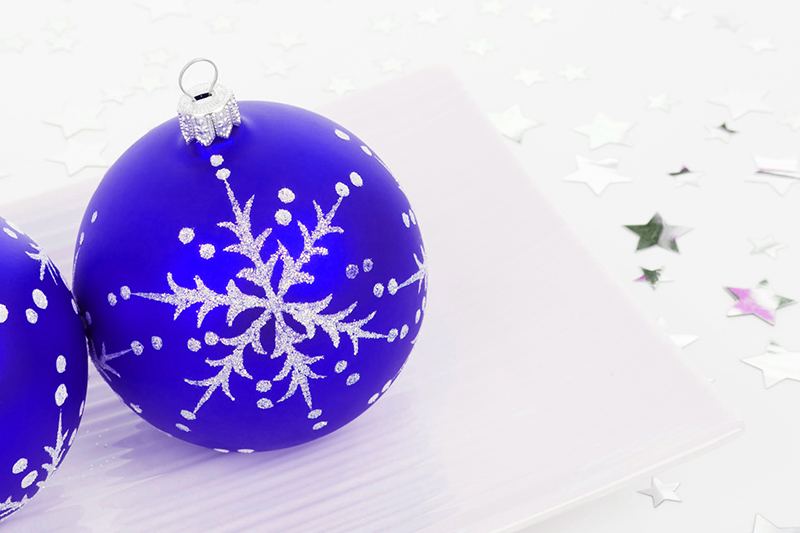 b2bcards corporate christmas eacrd ref:b2b-ecards-baubles-purple-406.jpg, Baubles, Purple