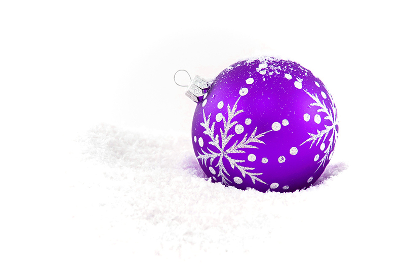 b2bcards corporate christmas eacrd ref:b2b-ecards-baubles-purple-418.jpg, Baubles, Purple