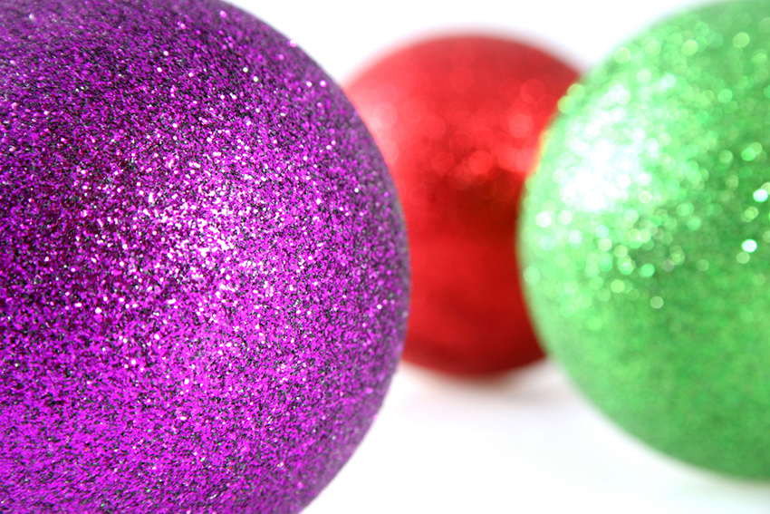 b2bcards corporate christmas eacrd ref:b2b-ecards-baubles-purple-red-green-804.jpg, Baubles, Purple,Red,Green