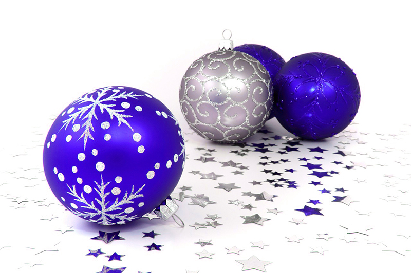 b2bcards corporate christmas eacrd ref:b2b-ecards-baubles-purple-silver-426.jpg, Baubles, Purple,Silver