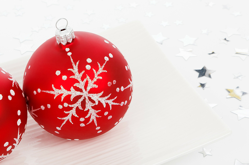 b2bcards corporate christmas eacrd ref:b2b-ecards-baubles-red-401.jpg, Baubles, Red