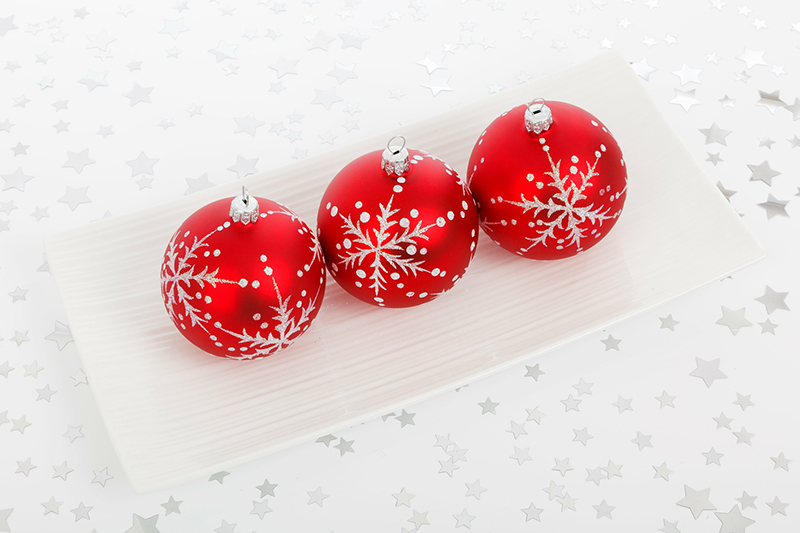 b2bcards corporate christmas eacrd ref:b2b-ecards-baubles-red-422.jpg, Baubles, Red