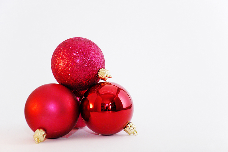 b2bcards corporate christmas eacrd ref:b2b-ecards-baubles-red-538.jpg, Baubles, Red