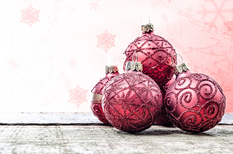 b2bcards corporate christmas eacrd ref:b2b-ecards-baubles-red-582.jpg, Baubles, Red