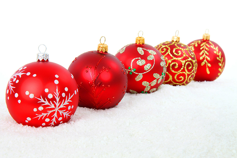 b2bcards corporate christmas eacrd ref:b2b-ecards-baubles-red-gold-421.jpg, Baubles, Red,Gold
