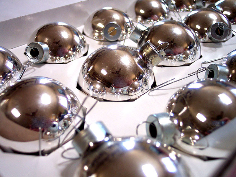 b2bcards corporate christmas eacrd ref:b2b-ecards-baubles-silver-348.jpg, Baubles, Silver
