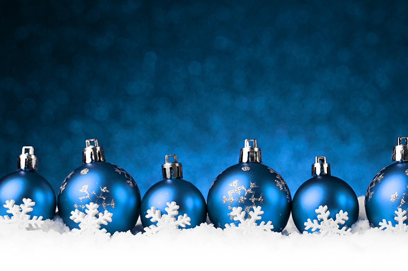b2bcards corporate christmas eacrd ref:b2b-ecards-baubles-snow-blue-1024.jpg, Baubles,Snow, Blue