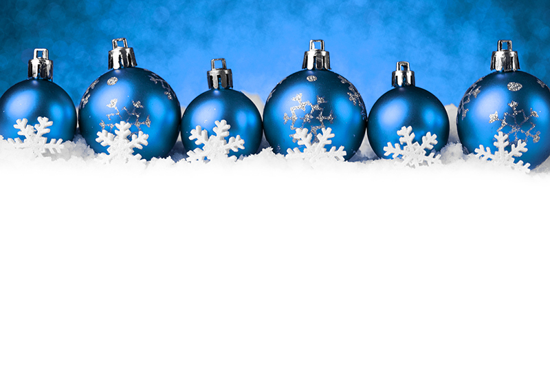 b2bcards corporate christmas eacrd ref:b2b-ecards-baubles-snow-blue-1025.jpg, Baubles,Snow, Blue