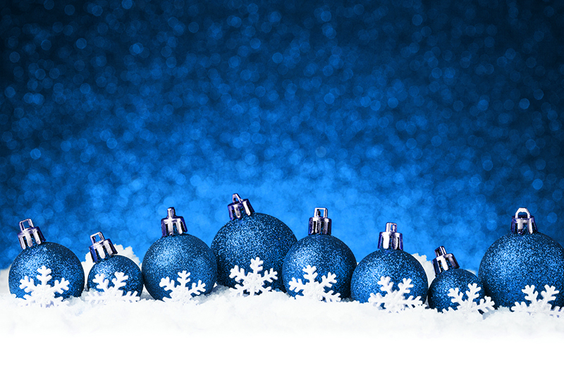 b2bcards corporate christmas eacrd ref:b2b-ecards-baubles-snow-blue-1026.jpg, Baubles,Snow, Blue