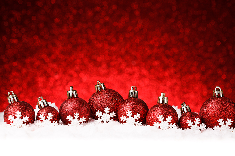 b2bcards corporate christmas eacrd ref:b2b-ecards-baubles-snow-red-1016.jpg, Baubles,Snow, Red