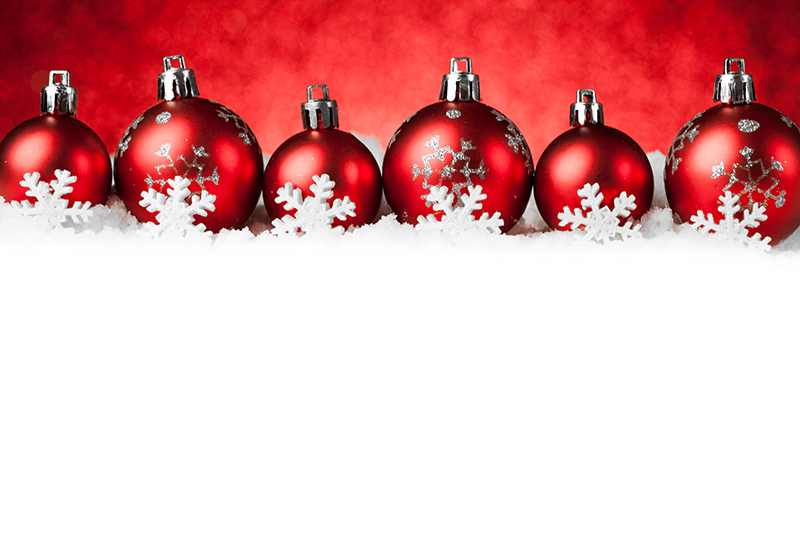 b2bcards corporate christmas eacrd ref:b2b-ecards-baubles-snow-red-1017.jpg, Baubles,Snow, Red