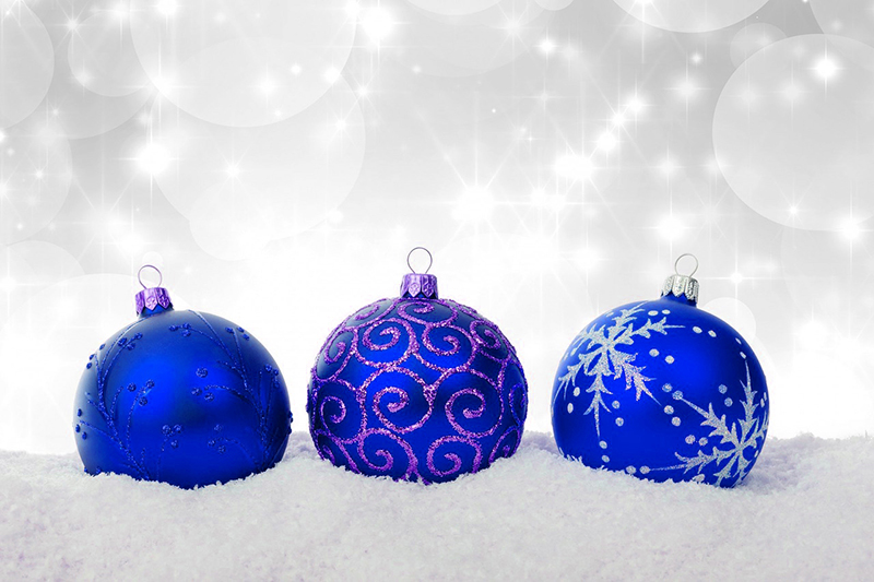 b2bcards corporate christmas eacrd ref:b2b-ecards-baubles-sparkly-blue-519.jpg, Baubles,Sparkly, Blue