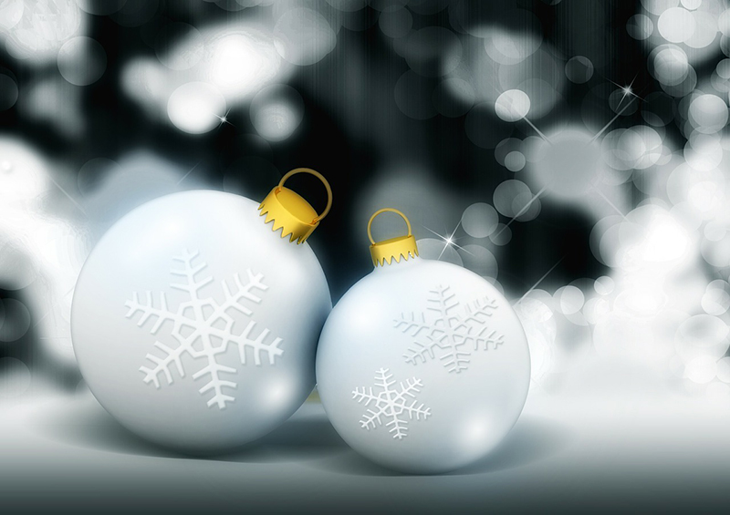 b2bcards corporate christmas eacrd ref:b2b-ecards-baubles-sparkly-white-silver-529.jpg, Baubles,Sparkly, White,Silver