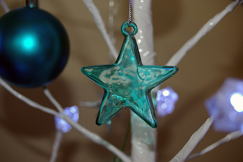 b2bcards corporate christmas eacrd ref:b2b-ecards-baubles-stars-teal-glass-357.jpg, Baubles,Stars, Teal,Glass