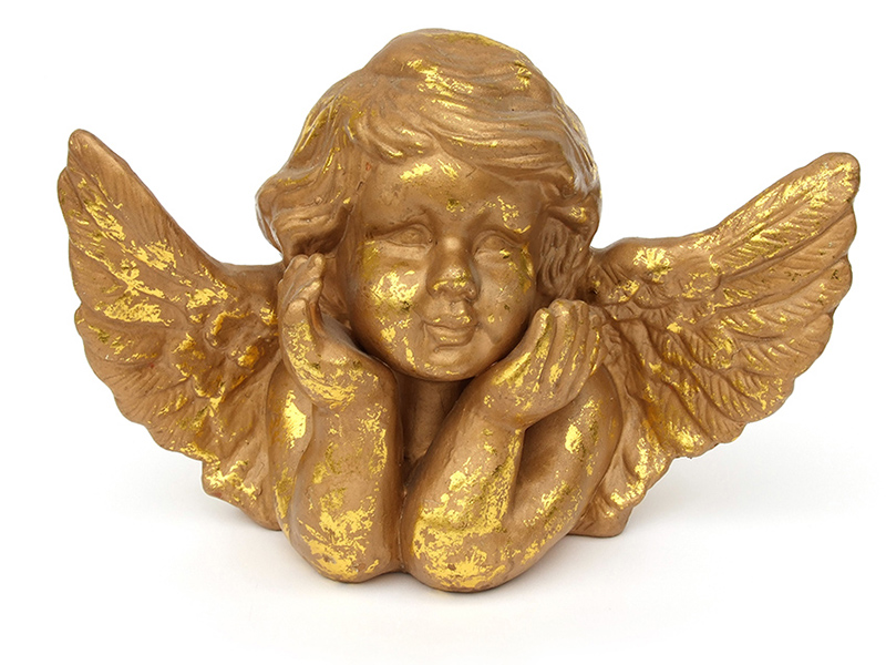 b2bcards corporate christmas eacrd ref:b2b-ecards-cherubs-gold-350.jpg, Cherubs, Gold