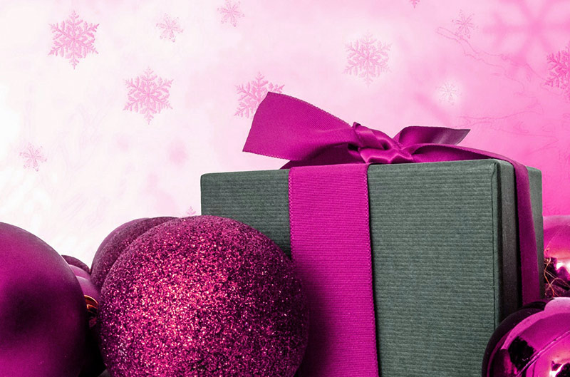 b2bcards corporate christmas eacrd ref:b2b-ecards-presents-fuschia-801.jpg, Presents, Fuschia