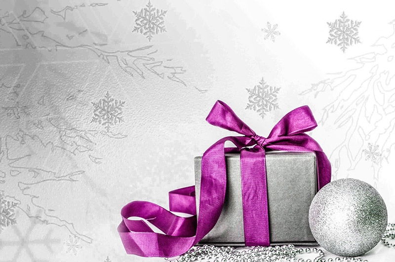 b2bcards corporate christmas eacrd ref:b2b-ecards-presents-pink-silver-567.jpg, Presents, Pink,Silver