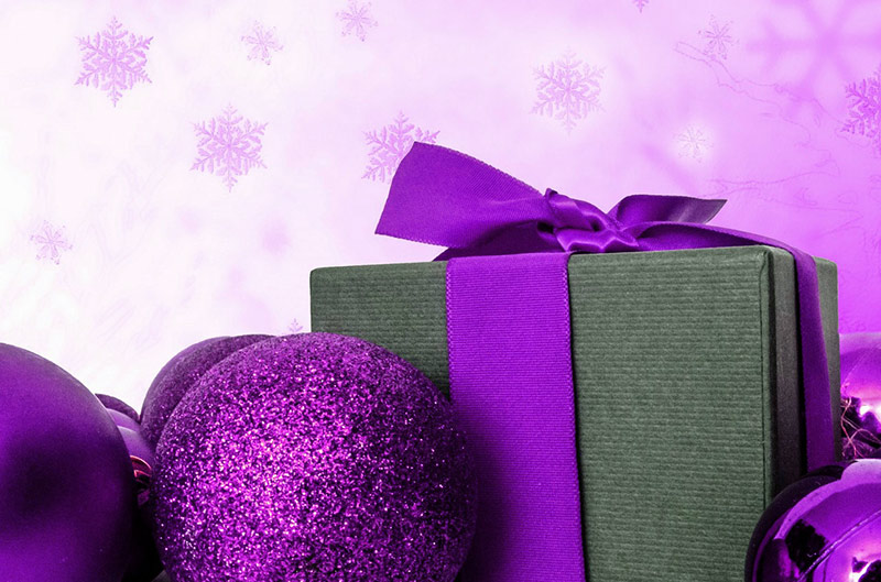 b2bcards corporate christmas eacrd ref:b2b-ecards-presents-purple-790.jpg, Presents, Purple