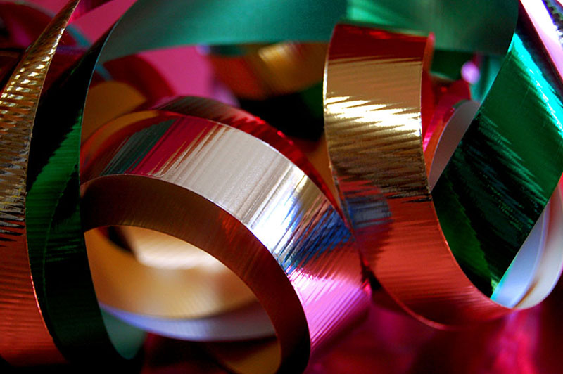 b2bcards corporate christmas eacrd ref:b2b-ecards-ribbons-colours-450.jpg, Ribbons, Colours